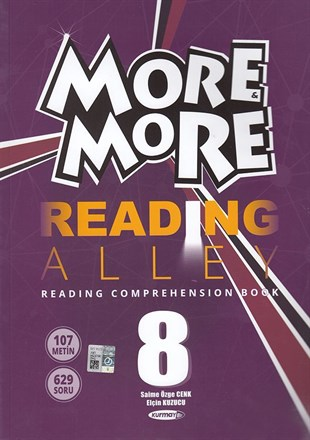 Kurmay ELT 8. Sınıf More More English Reading Alley
